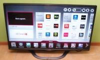 TV LG 42la620s SMART TV , 3D stan idealny 42 cale , A + klas