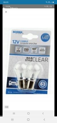 Żarówki LED system Canbus