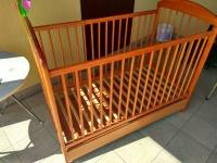 łóżeczko drewniane dla dziecka 0-6lat+Szuflada!