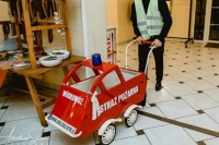 Wódkowóz wózek do alkoholu www.auto.slub.turek.pl
