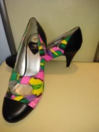 Kolorowe buciki.