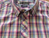 Koszula męska RESERVED (rozmiar XL) WIELOKOLOROWA KRATKA