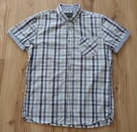 Koszula męska RESERVED krótki rękaw (rozmiar L/XL)