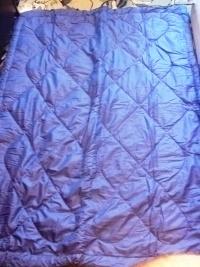 Śpiwór - nowy, kolor niebieski