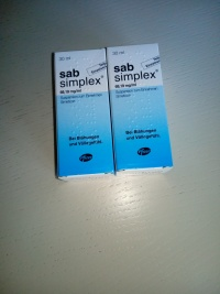 Sprzedam krople Sab Simplex