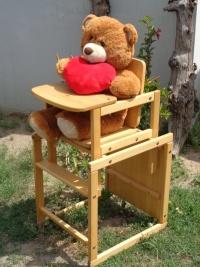 krzesełko do karmienia/stolik, 2 w 1 - U Tomka, Mielnica