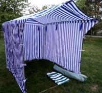 Kupię zaraz Namiot handlowy 2x2m używany baldachim, stragan
