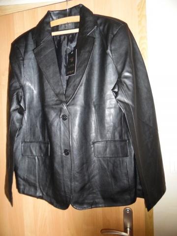sprzedam nową kurtkę (marynarkę) damską ze skóry EKO