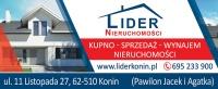 Sprzedam mieszkanie – 58m2 – 153 000 zł - Konin