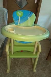 krzesełko wielofunkcyjne dla dziecka
