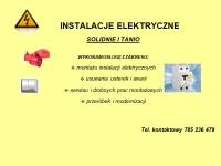 Elektryk - Instalacje elektryczne