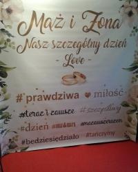 Dj Zespół foto ścianki napis LOVE