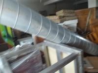 Kanał wentylacyjny rura wentylacyjna ok 4m bż