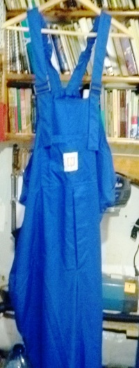 Spodnie męskie, robocze na szelkach CPN. Nowe