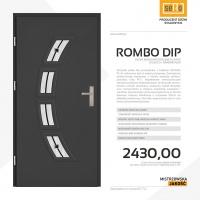 ROMBO PLUS DIP drzwi wejściowe stalowe SETTO