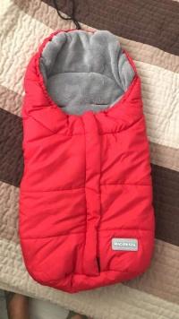 Ocieplacz śpiworek dla niemowlaka dziecka wkładka do nosidel
