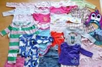 Ubranka dla dziewczynki wiek 1-12 miesięcy
