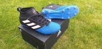 Sportowe turfy Adidas ze skarpetą