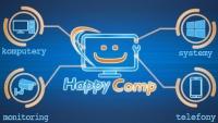 Naprawa komputerów, telefonów, monitoring HappyComp