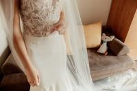 Sprzedam suknię ślubną, syrenka