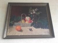 Obraz olejny-ręcznie malowany- Stary