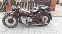 Motocykl M-72  1957r 100 rosji www.motobazar-prl.pl