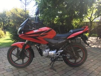 Honda cbf 125 2012r.  Kat. B