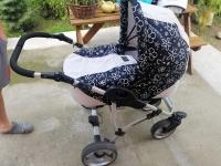 Wózek dziecięcy 2w1 plus nosidełko