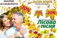 Sanatorium Leśna Pieśń z ofertą Złota Jesień - 20 procent zn ...