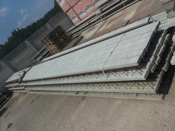 Strop TERIVA pustaki belki stropowe szalunkowe prefabrykowan
