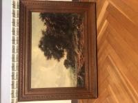 Obraz w drewnianej ramie