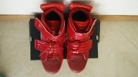 Czerwone buty firmy Denley