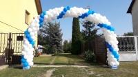 Montaz bram balonowych brama z balonów balony led z helem