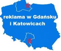 reklama w Gdańsku i Katowicach