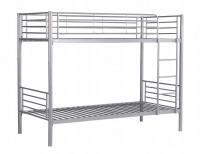 Metalowy stelaż łóżka piętrowego