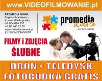 VideoFilmowanie.pl•Zdjęcia• Promocja Dron lub Fotobudka Free