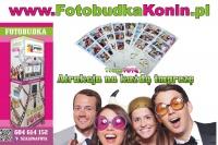 www.FotobudkaKonin.pl  Super atrakcja na imprezę 1H Gratis