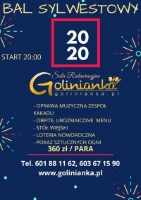 Bal Sylwestrowy2019/2020 w Golinie