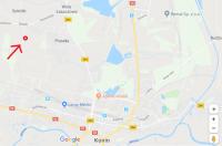 Działka budowlana 10 ar Olesin  3 km od granicy z Koninem