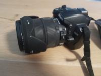 Lustrzanka Nikon D3000 + Obiektyw Sigma DC18-200mm 1:3,5-6,3