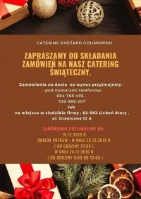 Catering Ryszard Golimowski - oferta wigilijna