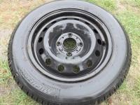 Koło samochodowe zapasówka z oponą Michelin 175/65/R14