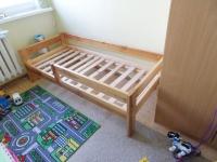 Łóżko dziecięce z barierką 160 cm x 70 cm
