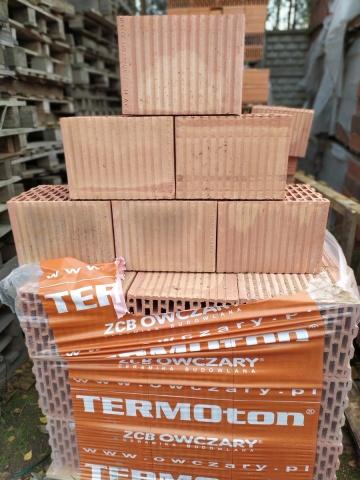 Pustak ceramiczny TERMOton Owczary Porotherm 25P+W z dostawą