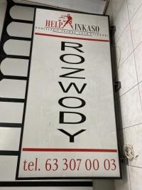 Sprzedam baner reklamowy z podświetleniem, 200x100cm