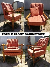 fotele dębowe - meble holenderskie U Tomka, Mielnica
