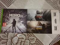 3 gry z serii metro na xbox one 3 kody