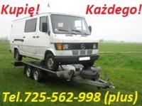 Kupię przyczepę każdą wywrotkę tel. 725 562 998 cała Polska