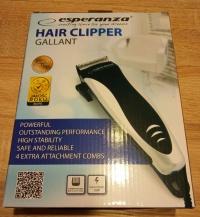 NOWA maszynka do strzyżenia włosów Esperanza Turek