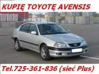 Kupię Toyotę Avensis I lub II Skup Zakupię Toyotę Avensis I